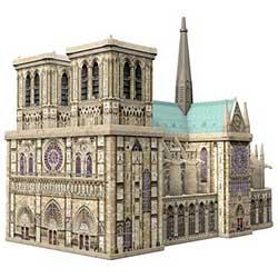 Jeux : Puzzle 3D Notre-Dame de Paris