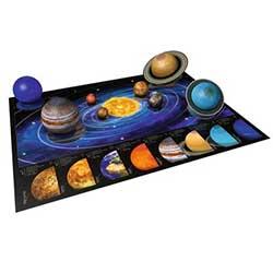 Jeux : Puzzle 3D Système solaire