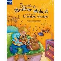 Livre audio : 3 contes de Marlène Jobert