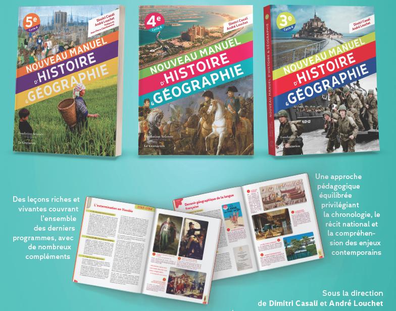 Manuels d'Histoire-Géographie pour le collège