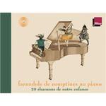 Livre CD Farandole de comptines au piano